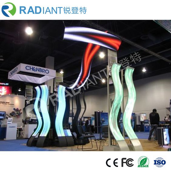 Flexible Led Screen From Radiant Led Also Named Flexible Led Display Curved Led Display Curved Led Screen Led Screen Led Display Screen Led Display
