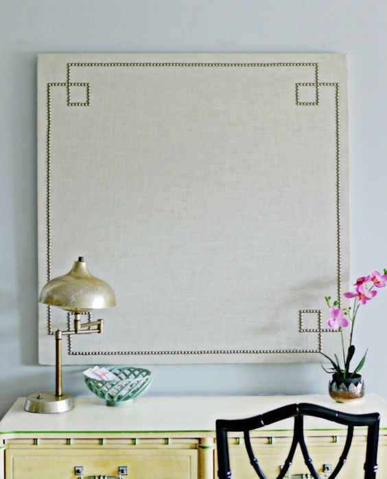 Pin boards cork boards and corks on pinterest for Linen cork board