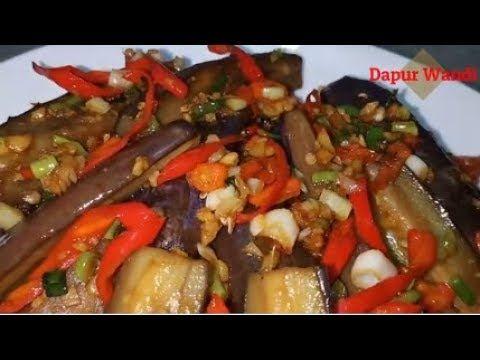 Resep Terong Oriental Ala Dapur Wandi Youtube Dapur Food Oriental