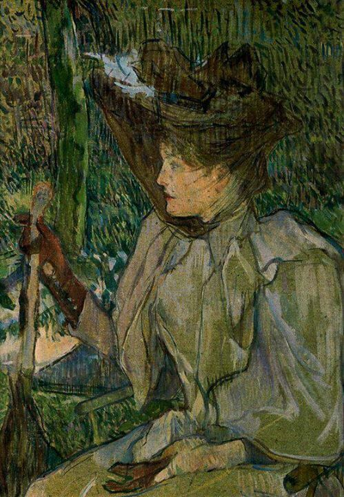 Henri Toulouse-Lautrec.(1891) Honorine Platzer