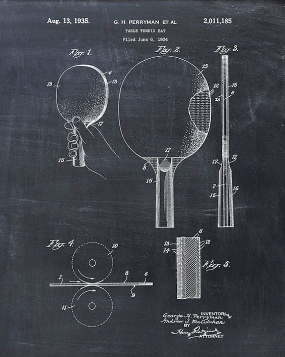 Sandpaper Paddles are legal in ping pong official tournaments