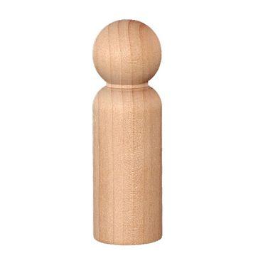 Wood Peg Doll - Extra Large
