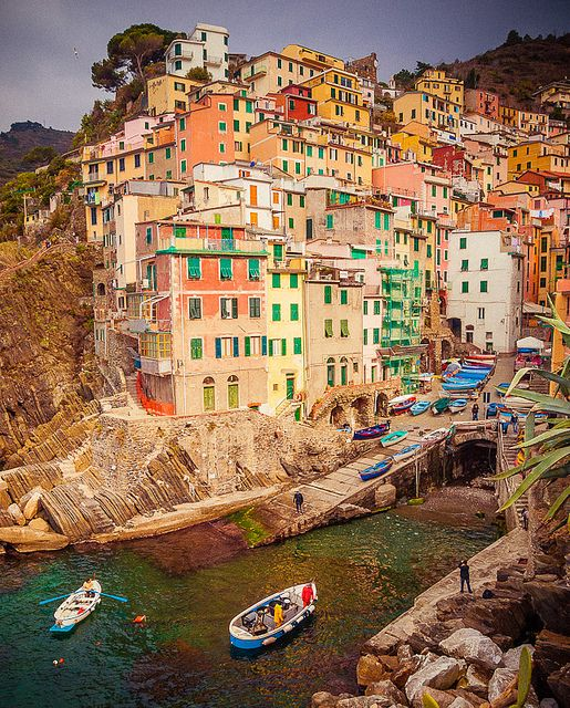 Cinque Terre, ! Province of La Spezia , Liguria Italy