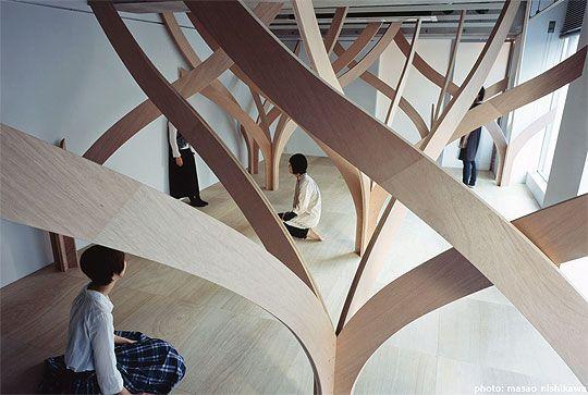 los elementos de madera provocan que las personas decidan quedarse en la habitación