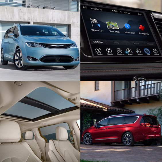 2017 Chrysler Pacifica and Pacifica Hybrid revolutionize the minivan segment with nearly 40 new minivan firsts. After creating the minivan segment more than 30 years ago, FCA US now boasts an unmatched 115 minivan innovations. @fiatchrysler_na @naiasdetroit #NAIASDetroit @officialmopar #Chrysler #ChryslerPacifica #Pacifica #80mpg #Uconnect #UconnectTheater #ParkSense #360DegreeCamera #AdaptiveCruiseControl #StowandVac #Hybrid #PanoramicSunroof #StowandGo #NAIAS