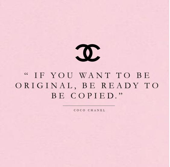 If you want to be original, be ready to be copied. My website knows all about that! :