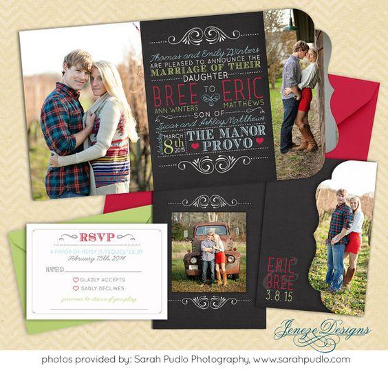 cff4125e25487b8f937c94797cfe1348 summer chalkboard wedding invitation boutique tri by jeneze,The Wedding Invitation Boutique