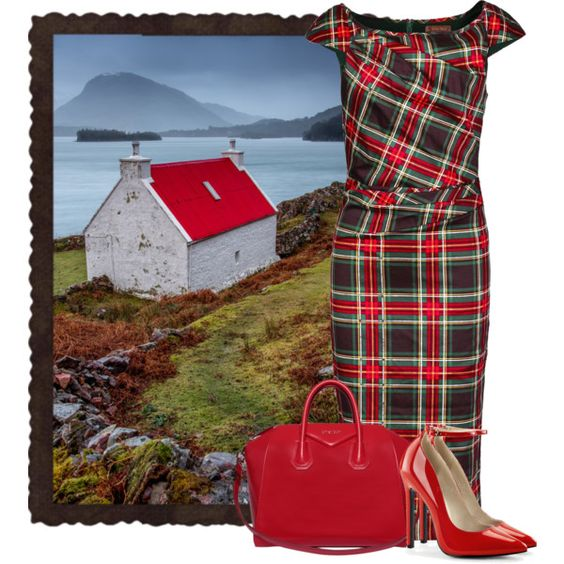Scotland by cassandra-cafone-wright on Polyvore featuring мода, Jolie Moi and Givenchy