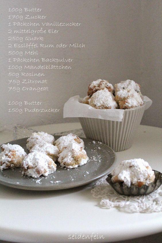 seidenfeins Dekoblog: Stollengebäck  german christmas cake - cookies