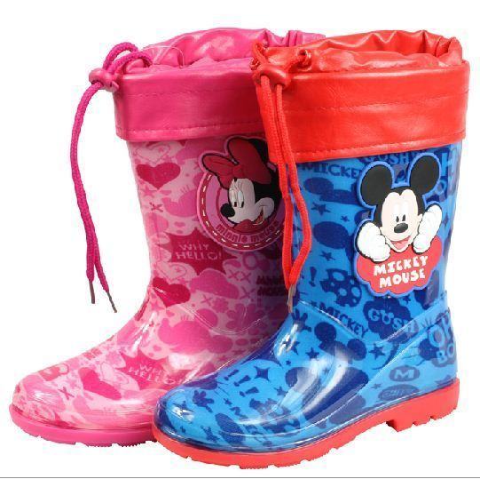 Details about Disney Mickey Mouse children rain boots kids ...