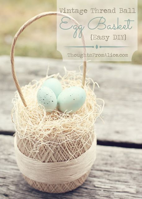 Twirl & Take a Bow Party - Easter Inspiration - House on the Way: Darling Vintageeasterbasket, Diy Crafts, Diy Easter, Craft Projects, Easter Springtime, Hoppity Easter, Easter Baskets, Diy Projects