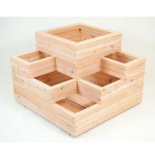 Spiral Wooden Rectangular Planter Diy Pinterest 400 x 300