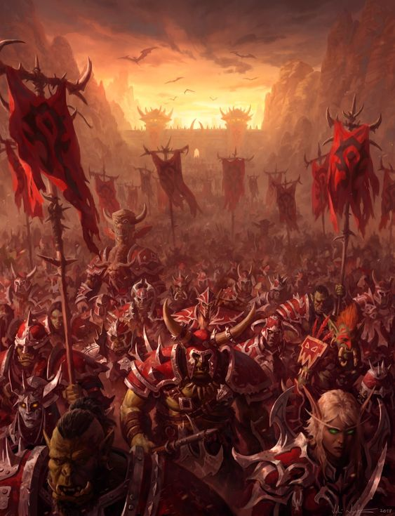 For the Horde Daily World of Warcraft Art Board ^^ // Blizzard // wow // Hearthstone // Geek  #Worldofwarcraft #WarcraftArt #Geek #Wow #hearthstone #BlizzardArt #art