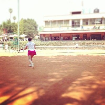 @sandysokete #tennis #fit #sports #fitness la hermana jugando