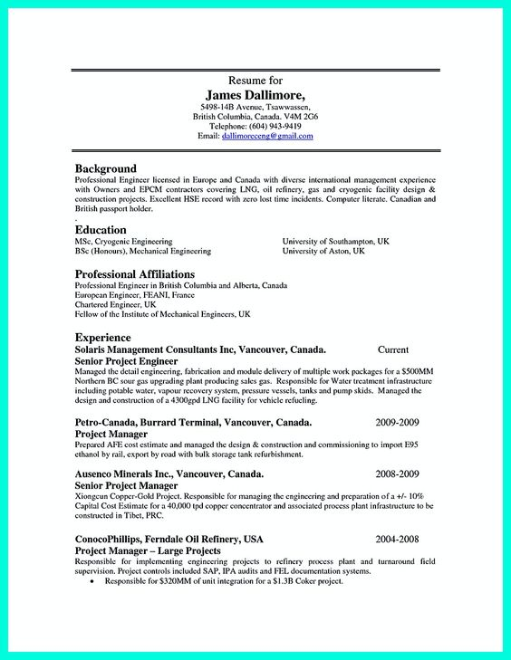 sample machinist resume - Intoanysearch