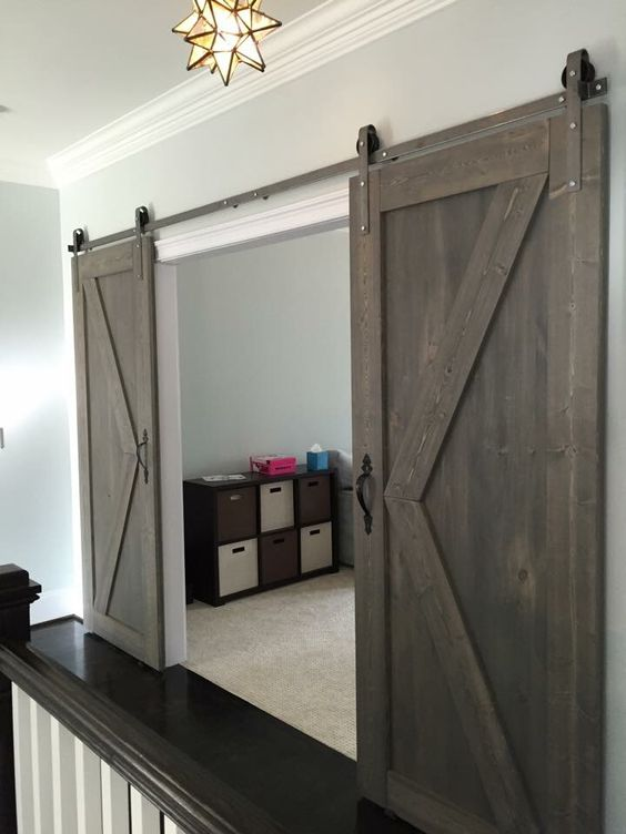 Modern sliding barn doors at affordable prices classic for Affordable sliding barn doors