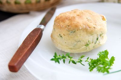 vegan herbed 'buttermilk' biscuits
