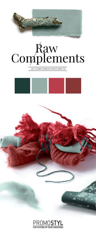 Promostyl - Les complémentaires bruts - Tendance couleur FW 2016-17 - Tendances (#592445)
