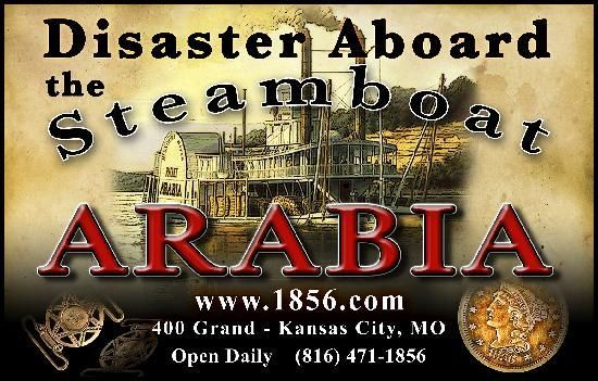 The Steamboat Arabia Museum. Recommended by Carol & Shirley.