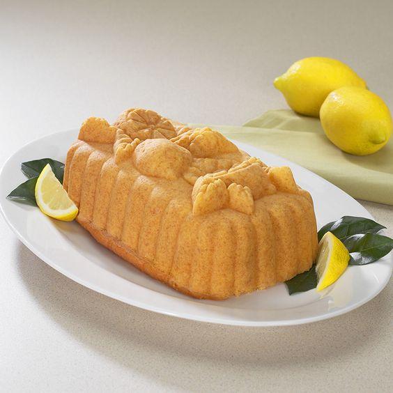 Lemon Tea Bread Lemon Loaf In Nordic Ware S Lemon Loaf