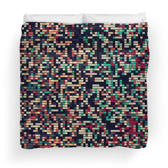Pixelmania III  Duvet Cover