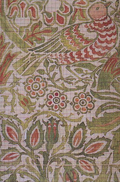 Old Victorian Fashion Textile Artists