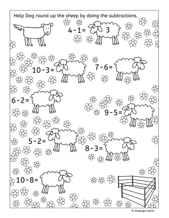 Addition and subtraction activities and worksheets – Math Superstars Worksheets
