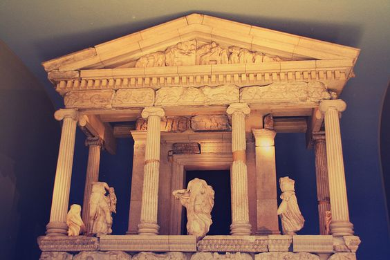 British Museum - all the loot they hauled from Greece. A temple to the water god Nerus