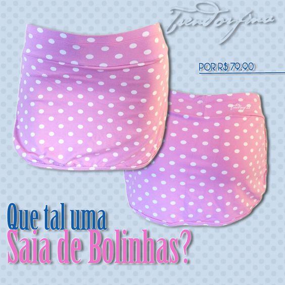 Verão combina com saia curtinha e pernas bem definidas! Veja nossas coleções de saias short! www.trendorfina.com.br  Saia Short Fitness Cute Pink - Toda de bolinhas!! Acesse: http://goo.gl/ckmRlm  #trendorfina #modafitness #saia #saiacurta #saiashort #saiafitness #sainha #gym #academia