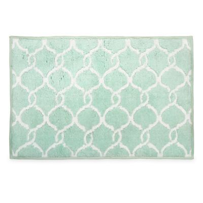 Langley Bath Rug In Mint Bedbathandbeyond Com Bathroom Decor Mint Green  Bathroom Rugs My Web Value Green Rugs Home Design Plan.