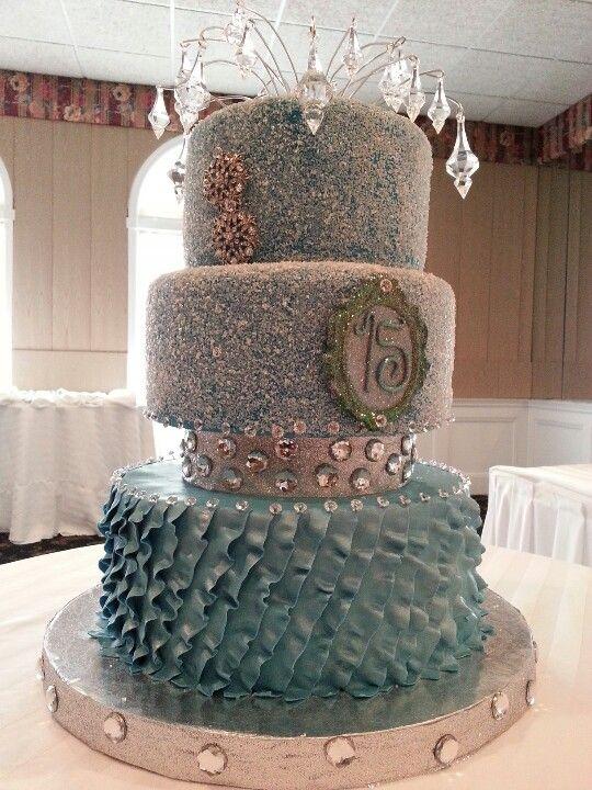 Quincenera Sweet 16 Cake My Cakes Pinterest Unique