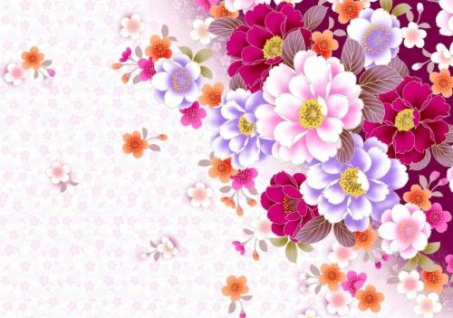 Free Wallpaper Backgrounds Flowers 403 06kb Download High Resolution Floral Papel De Parede Do Notebook Papel De Parede Flores Papel De Parede Flor Vermelha