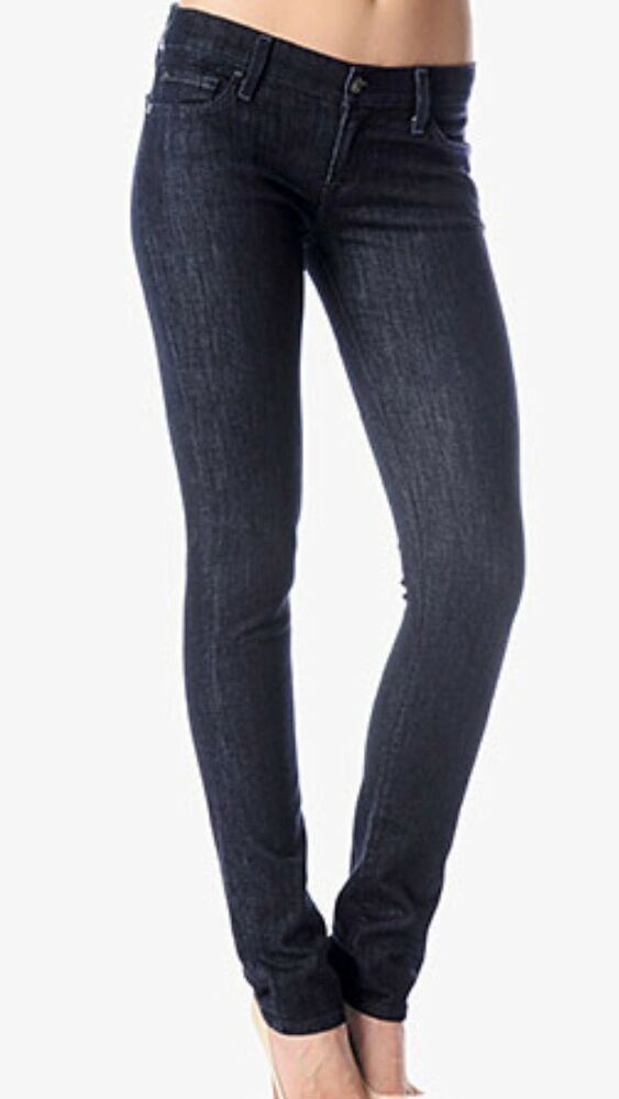 7 For All Mankind Women S Jeans Roxanne Classic Skinny Jeans Size