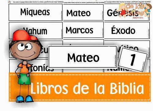 De Los Tales Libros De La Biblia Libros De La Biblia Biblia Para Niños Estudios Bíblicos Para Niños