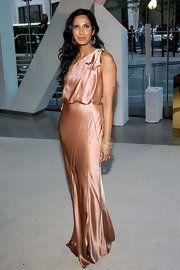 Padma Lakshmi One Shoulder Dress