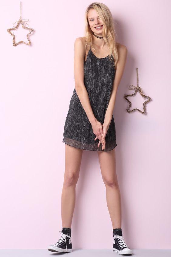 Lurex dress: