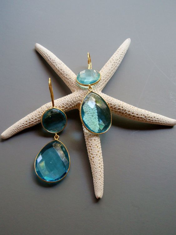 Your perfect summer earrings!! NEW at www.calypsocottageonline.com