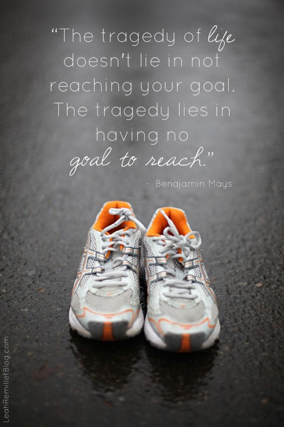 """""""The tragedy of life doesn't lie in not reaching your goal.  The tragedy lies in having no goal to reach."""""""