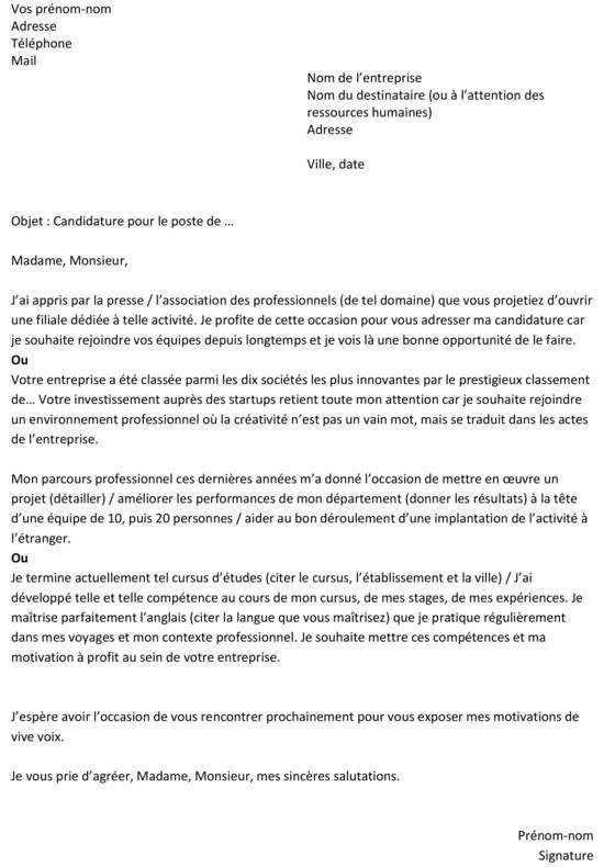 Resultats De Recherche D Images Pour Une Lettre De Motivation Letter Templates Letter Sample Resume Words