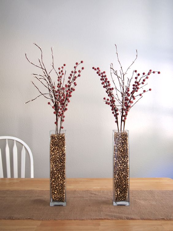 Pinto Beans As Vase Filler Who Would Have Thought