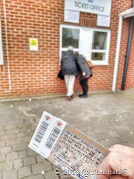 19th March 2016 Bury 2-2 Shrewsbury Tickets for Blackpool