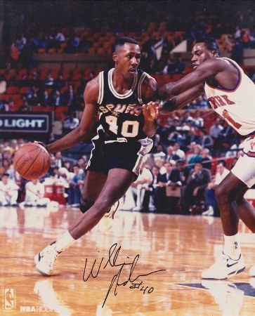 AAA Sports Memorabilia LLC - Willie Anderson Autographed San Antonio Spurs 8x10 Photo, #willieanderson #spurs #sanantoniospurs #nba #nbacollectibles #sportscollectibles #autographedcollectibles $37.95 (http://www.aaasportsmemorabilia.com/nba/willie-anderson-autographed-san-antonio-spurs-8x10-photo/)