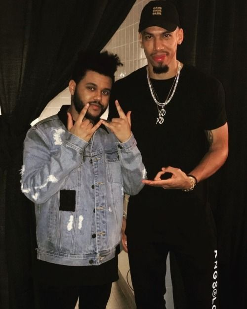 The Weeknd And Danny Green In San Antonio The Weeknd The Weeknd Wallpaper Iphone Man Crush Everyday
