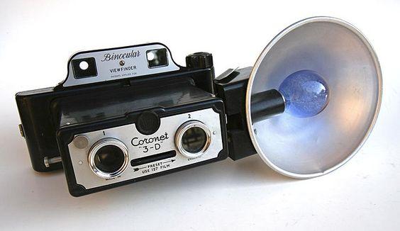 Coronet 3-D Stereo Camera