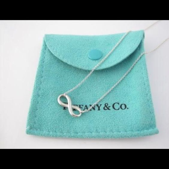 TIFFANY'S Infinity Necklace. sterling silver!! TIFFANY'S Infinity Necklace. sterling silver!! NO LONGER HAVE BAG/BOX !!! Tiffany & Co. Jewelry Necklaces