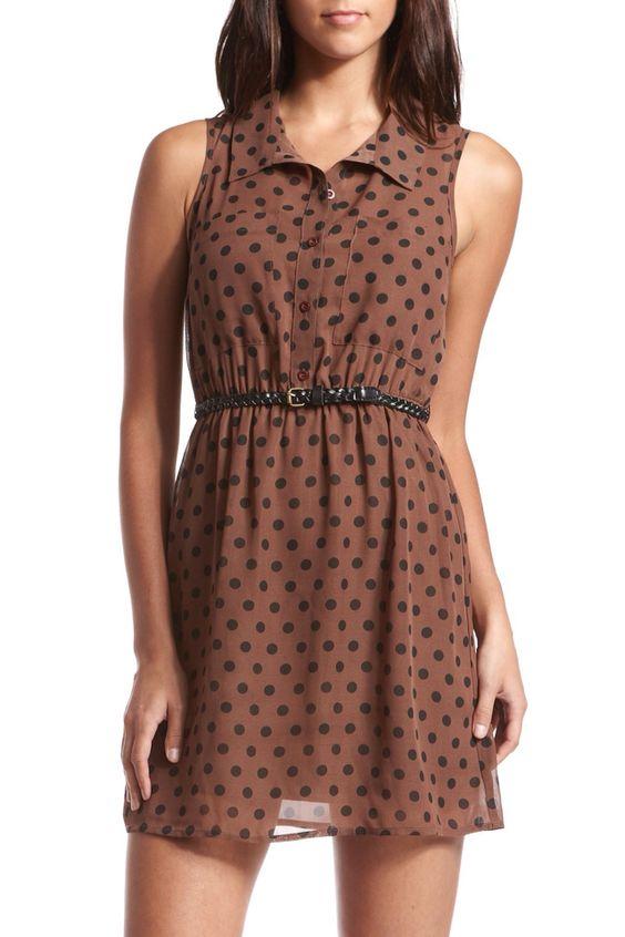 ... dress 17college polka dot vest pokka dots dress 32 shirt dress forward