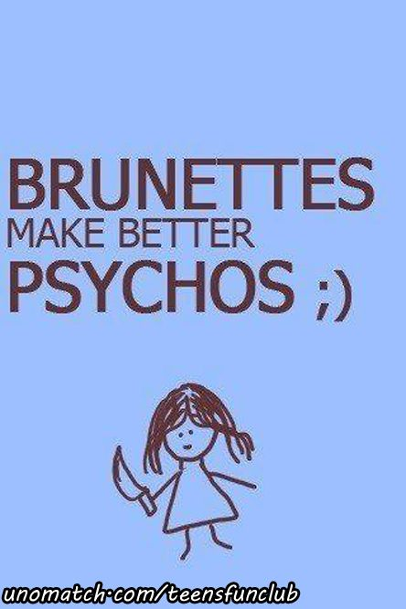 bruneetes