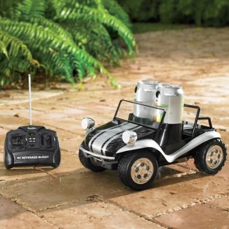 Very Funny Present - Radio Control Beverage Buggy. #FathersDay #Gift