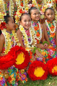 Belas e coloridas havaianas.