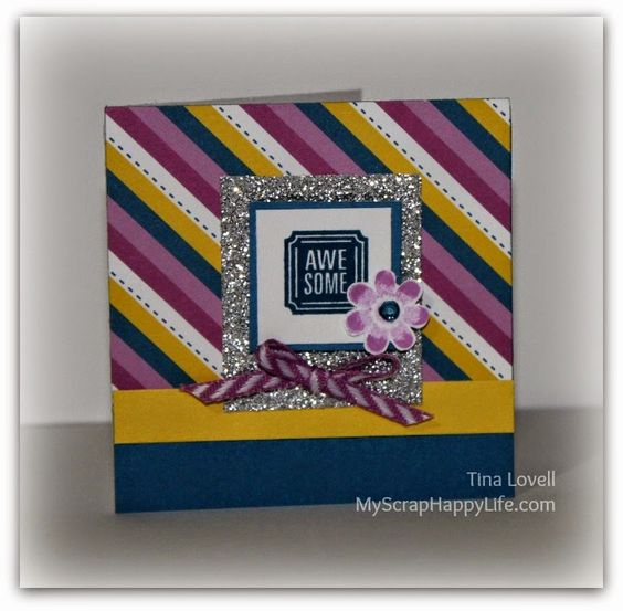 My Scrap Happy Life: Glitter Paper... my most Favoritest Embellishment right now!! #ConfettiWishes #30yearsofhappy